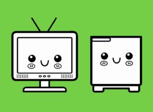 TV + MINI BAR